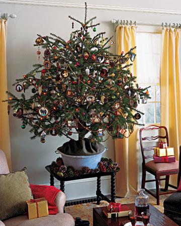 Как украсить елку в квартире к Новому Году