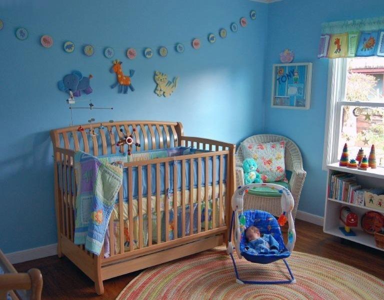 Как украсить комнату новорожденного своими руками 94