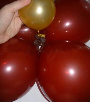 Оформление воздушными шарами своими руками