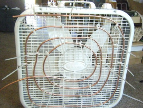 Кондиционер – вентилятор своими руками