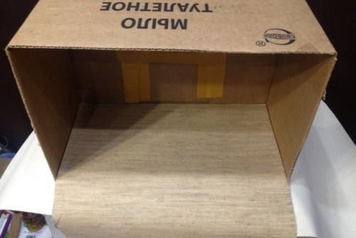 Коробка для хранения вещей (одежды) своими руками