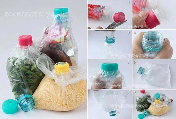 Как сделать вазу своими руками из бутылок