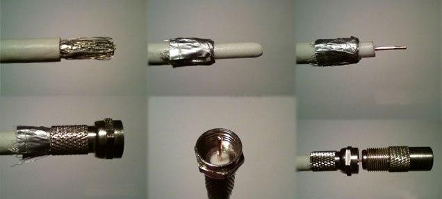 Как сделать тв кабель