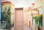 Рисунок на стене акриловыми красками, своими руками (роспись на стене)
