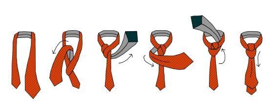 Как завязывать галстук селедку. Как выбрать галстук