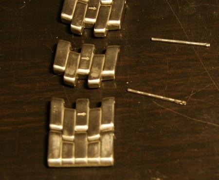 Как укоротить отрегулировать металлический ремешок на часах (Orient, Casio, Citizen)
