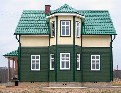 Стены, дом из бруса